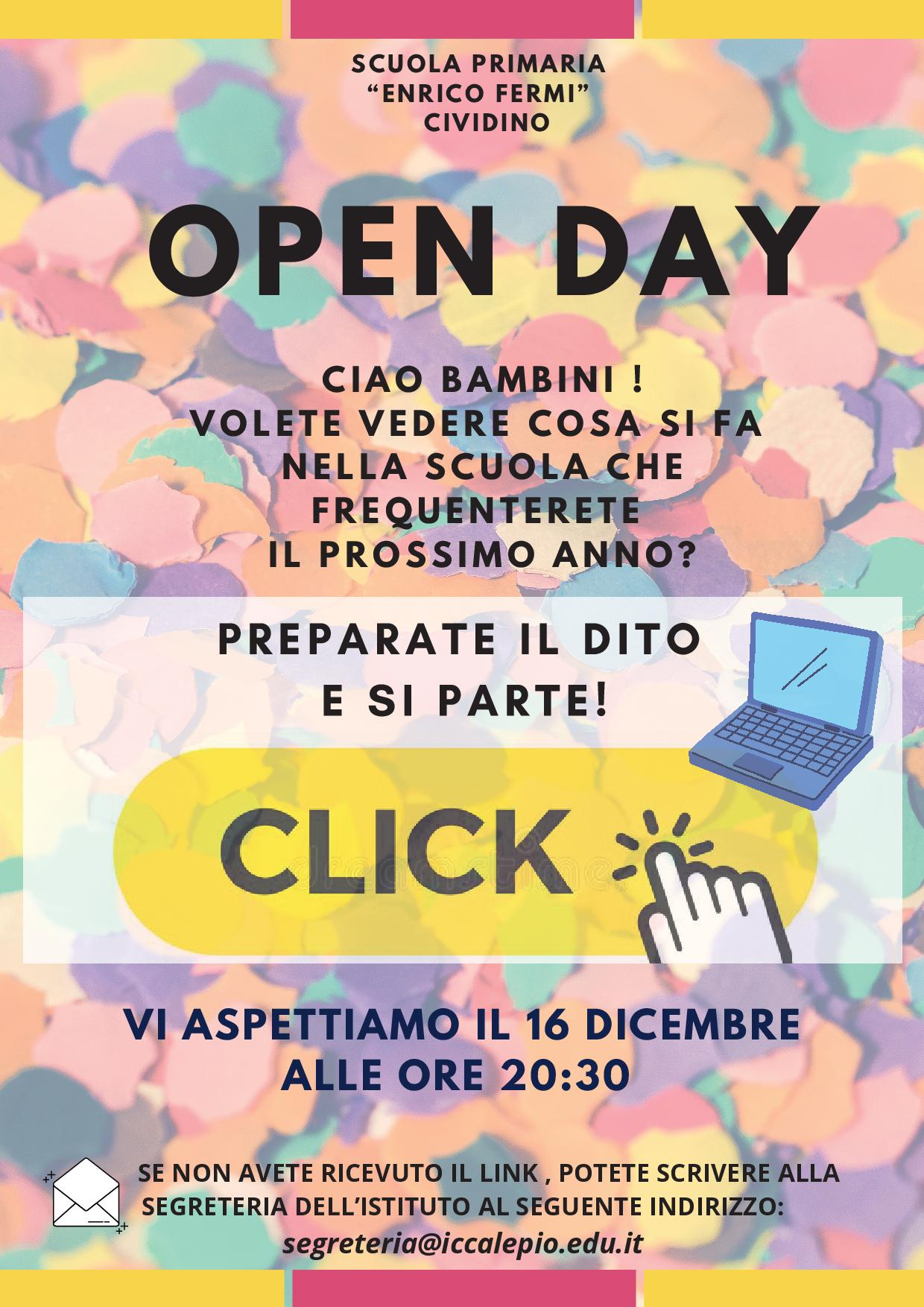 OPEN DAY Cividino